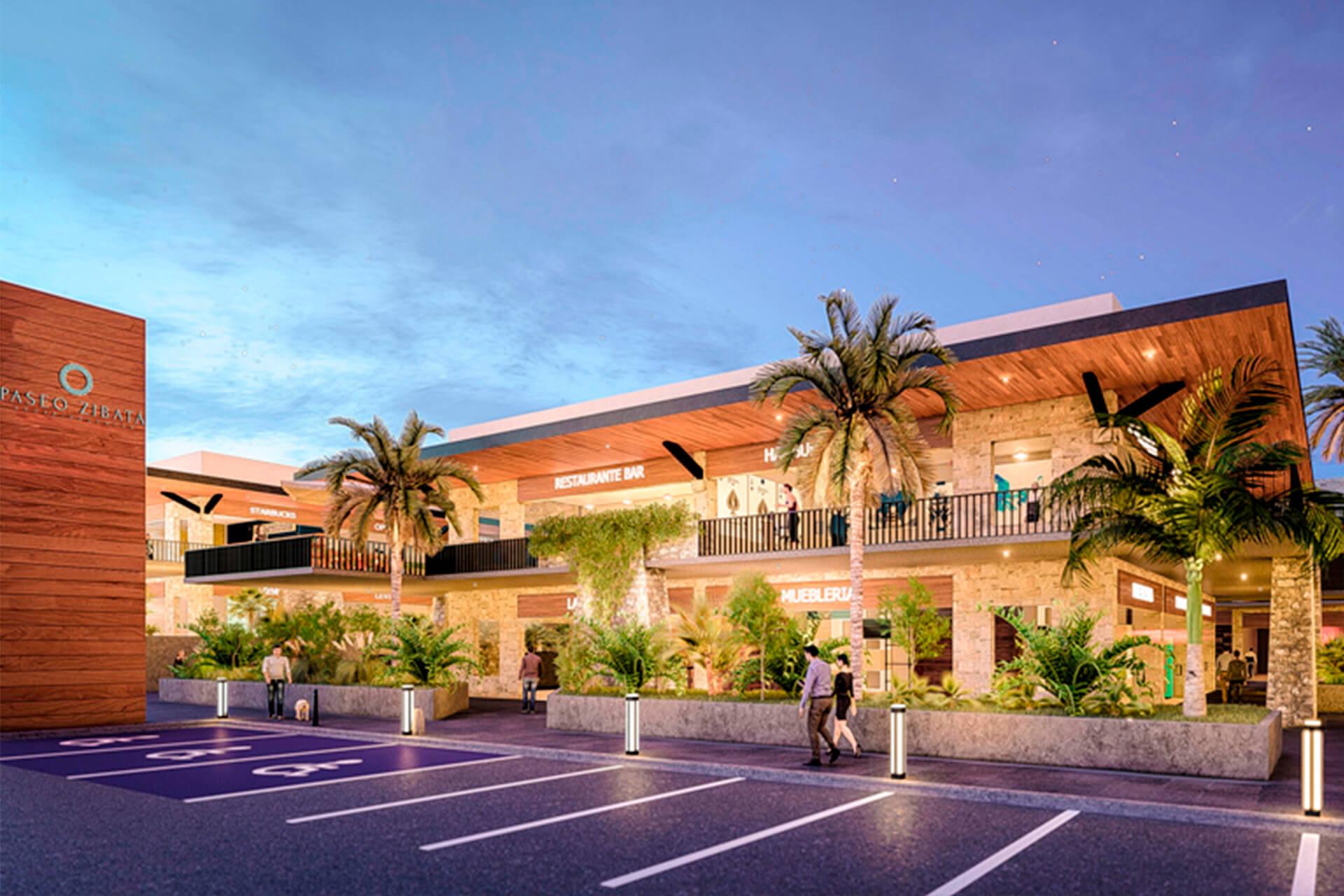 Excelentes zonas comerciales en el interior del desarrollo, por lo que no tienes que desplazarte a otro lado para realizar tus compras.
